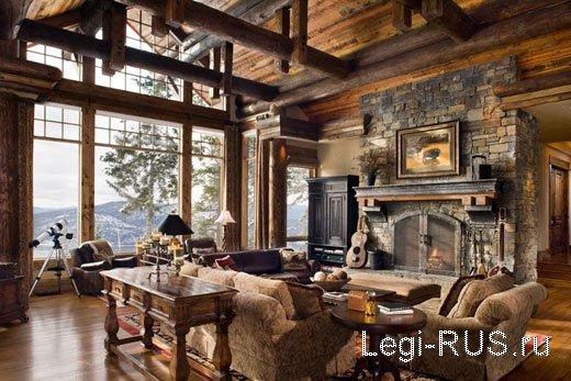 Столовая в доме дизайн