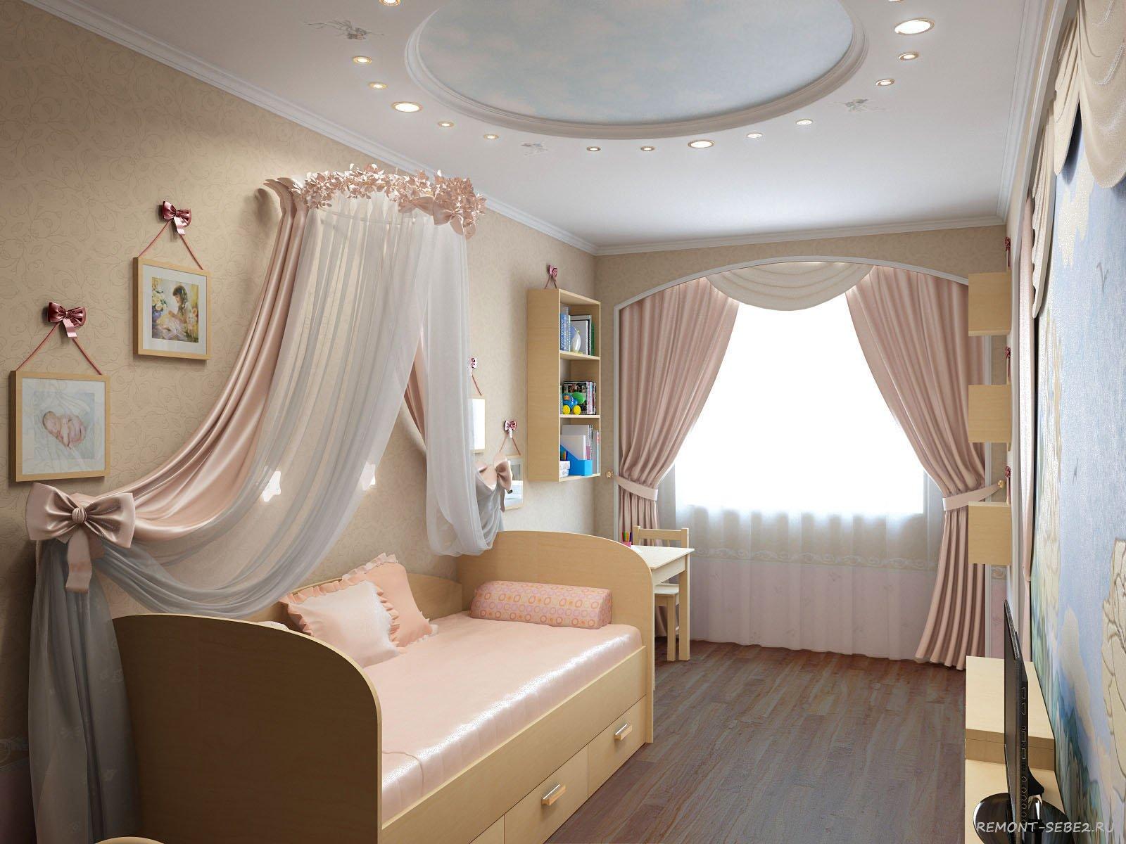 Дизайн маленьких детских комнат на 2 детей 21